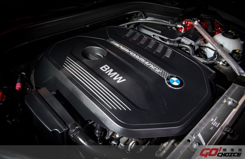 全新BMW X4 M40i搭載BMW TwinPower Turbo直列六缸汽油引擎