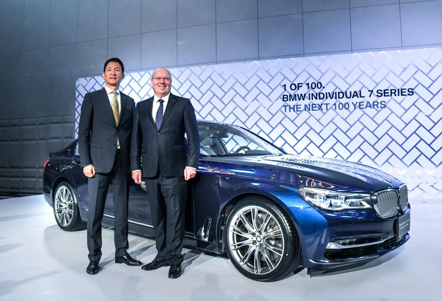 BMW Individual 7 Series THE NEXT 100 YEARS及M760Li聯袂上市